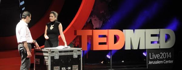 TED MED Maya Elhalal Levavi hosting 2