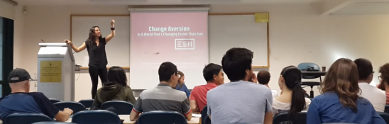 Maya Elhalal  - ESH Media - Change Aversion