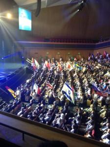 Maya Elhalal Levavi hosting IAC2015 4