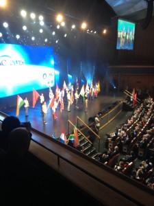 Maya Elhalal Levavi hosting IAC2015 2