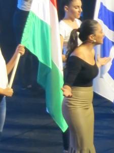 Maya Elhalal Levavi hosting IAC2015