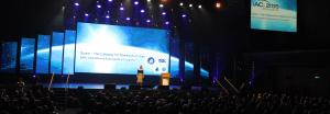 Maya Elhalal Levavi hosting IAC 2015